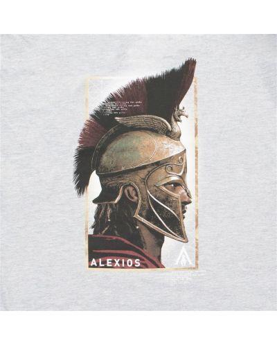 Тениска Timecity Assassin's Creed Odyssey - Alexios Side, сива - 2