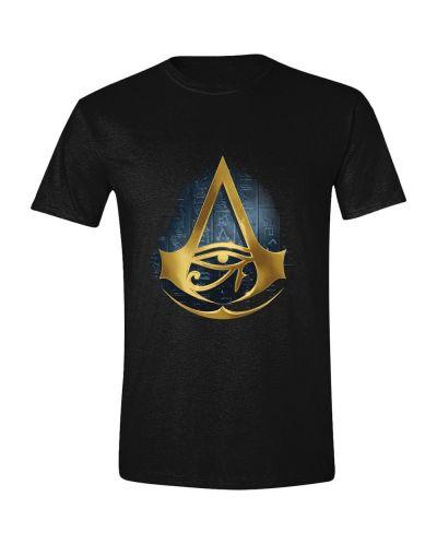 Тениска Assassin's Creed: Origins - Hyroglyphics Logo, черна - 1