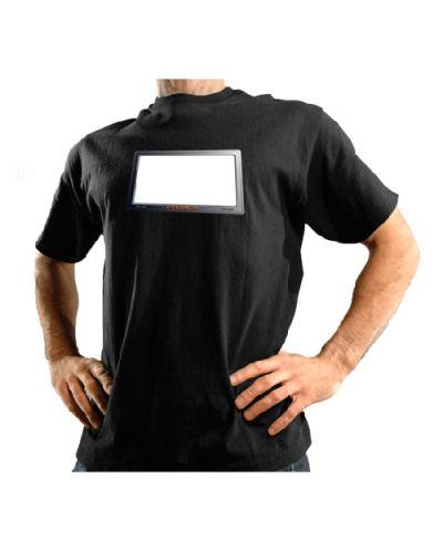 Тениска със светещ надпис - 2