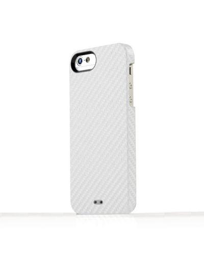 Tunewear Carbonlook за iPhone 5 -  бял - 1