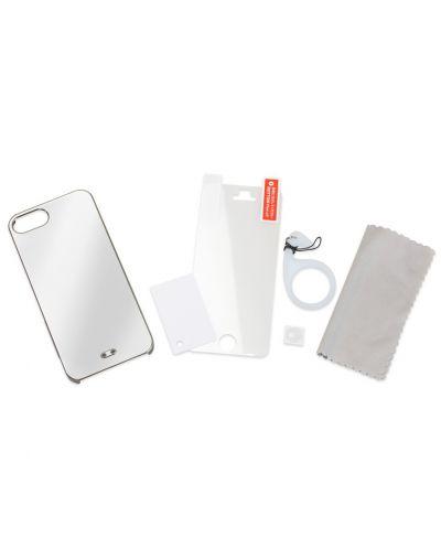 Tunewear Eggshell Pearl за iPhone 5 -  тъмносив - 5