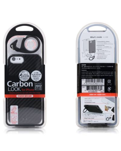 Калъф Tunewear Carbonlook за iPhone 5, Iphone 5s -  черен - 6