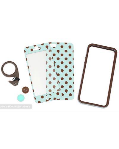Tunewear Poptune Choco Mint за iPhone 5 - 5