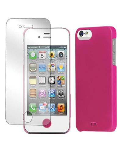 Tunewear Eggshell за iPhone 5 -  розов - 3