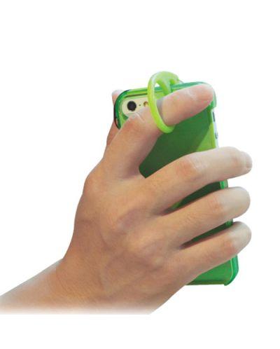 Tunewear Softshell за iPhone 5 -  лайм - 4