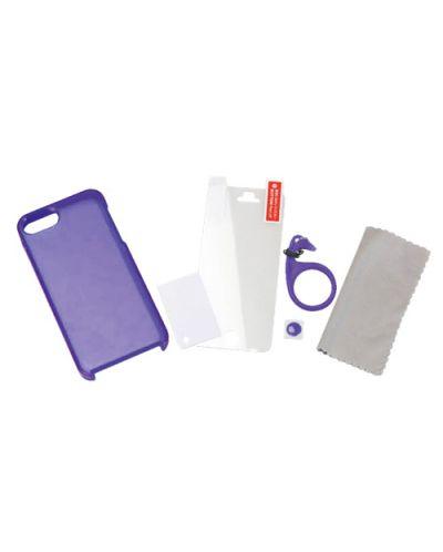 Tunewear Softshell за iPhone 5 -  лилав - 2