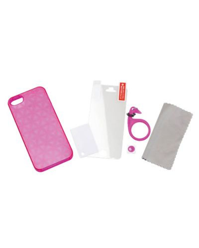 Tunewear Tuneprism за iPhone 5 -  розов - 2