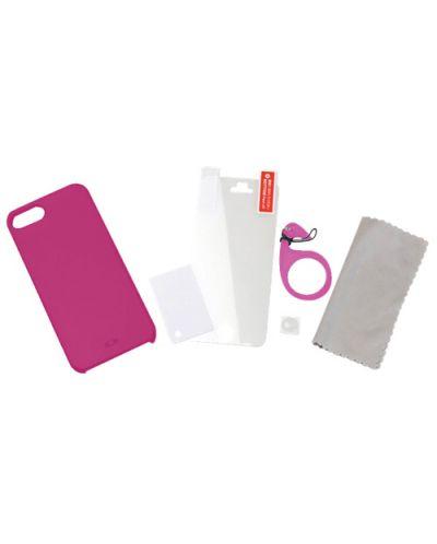 Tunewear Eggshell за iPhone 5 -  розов - 4