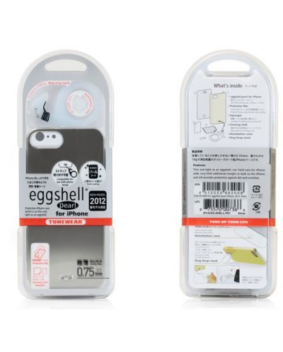 Tunewear Eggshell Pearl за iPhone 5 -  тъмносив - 6