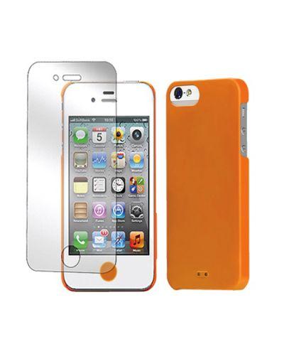 Tunewear Eggshell за iPhone 5 -  оранжев - 3