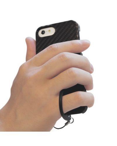 Tunewear Carbonlook за iPhone 5 -  бял - 4