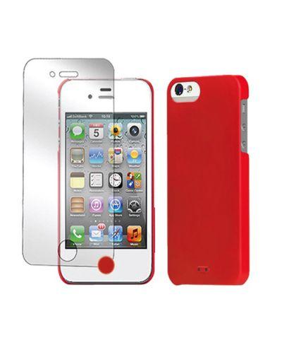 Tunewear Eggshell за iPhone 5 -  червен - 3