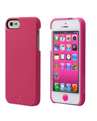 Tunewear Leatherlook за iPhone 5 -  розов - 1