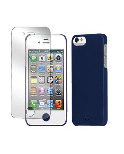 Tunewear Eggshell за iPhone 5 -  син - 3