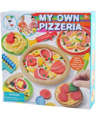 Творчески комплект PlayGo - Пицария от пластилин - 1