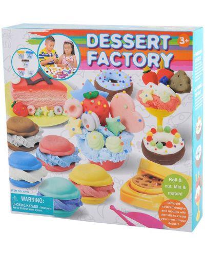 Творчески комплект PlayGo - Фабрика за сладкиши от пластилин - 1