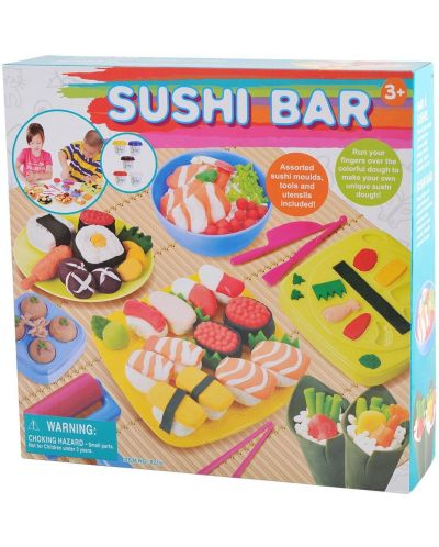 Творчески комплект PlayGo - Суши бар от пластилин - 1