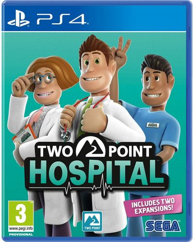 Two Point Hospital (PS4) - 1