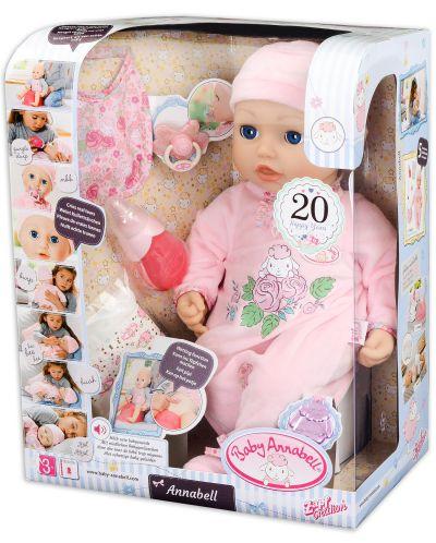 Детска кукла Zapf Creation, Baby Born - Анабел - 1