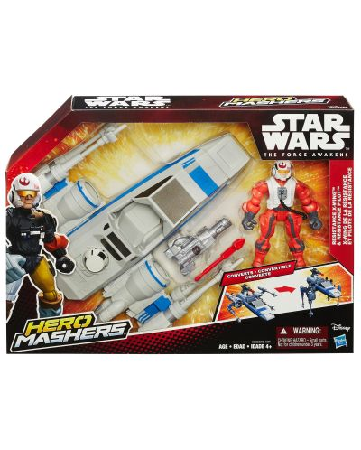 Star Wars Hero Mashers: X-Wing кораб и неговия пилот - 3