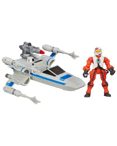 Star Wars Hero Mashers: X-Wing кораб и неговия пилот - 1