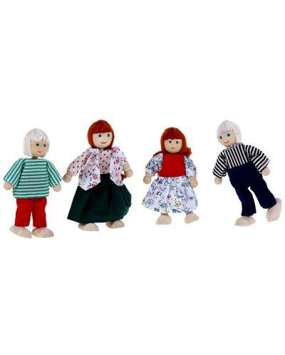Дървени кукли Woody – Семейство, 4 броя - 2