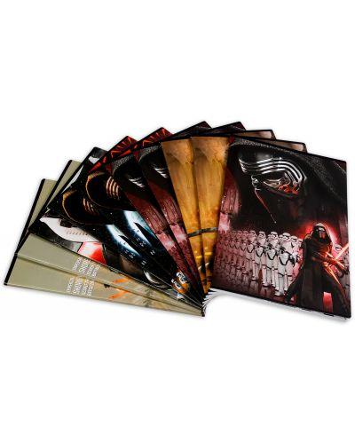 Комплект от 10 тетрадки Star Wars - А4, 54 листа, широки редове - 1