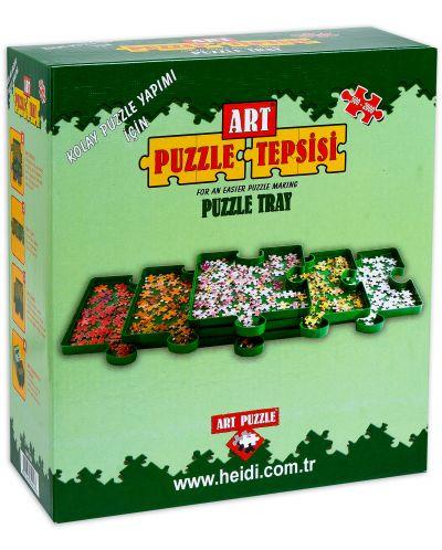 Комплект сортери за пъзелни части Art Puzzle - 6 броя - 1