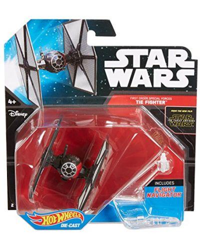Hot Wheels Star Wars Космически кораби - First Order Tie Fighter - 1