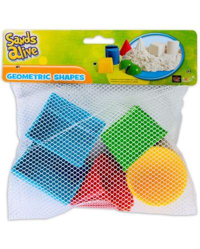 Комплект играчки за пясък Sands Alive - Геометрични форми - 2