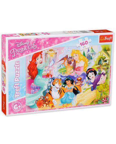 Пъзел Trefl от 160 части - Принцеси и приятели - 2