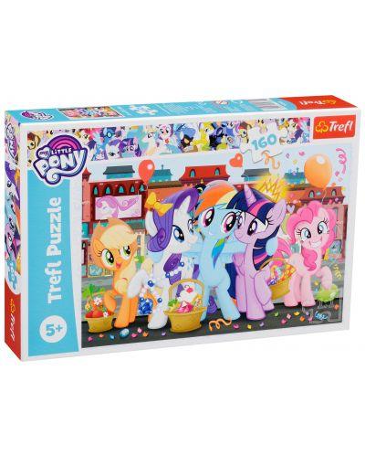 Пъзел Trefl от 160 части - Пазар, My Little Pony - 2