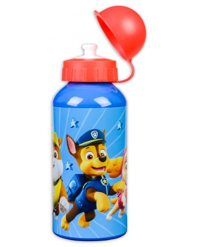 Алуминиева бутилка за вода Spin Master Paw Patrol - 400 ml - 1
