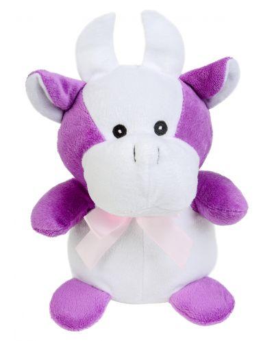 Плюшена играчка Morgenroth Plusch - Кравичка, 20 cm - 1