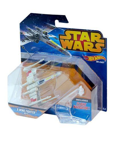 Hot Wheels Star Wars Космически кораби - X-Wing Fighter - 1