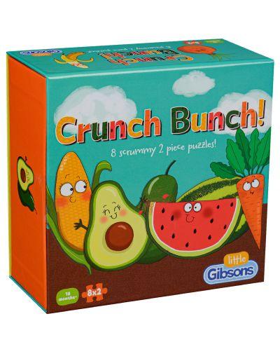 Пъзел GIbsons от 2 x 8 - Плодове и зеленчуци - 1