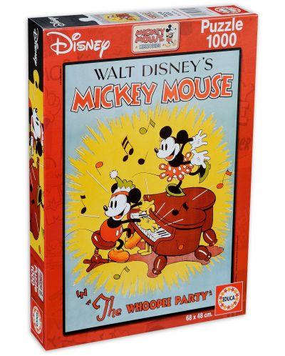 Пъзел Educa от 1000 части - Празникът на Мики Маус - 1