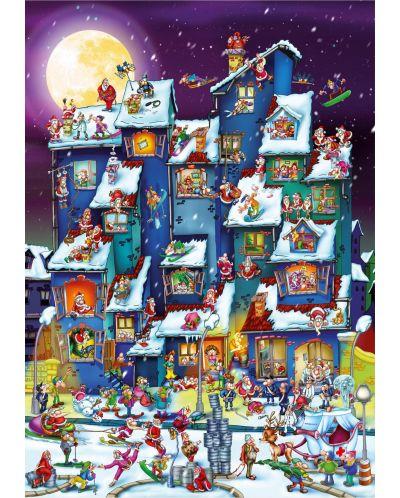 Пъзел D-Toys от 1000 части – Дядо Коледа - 2