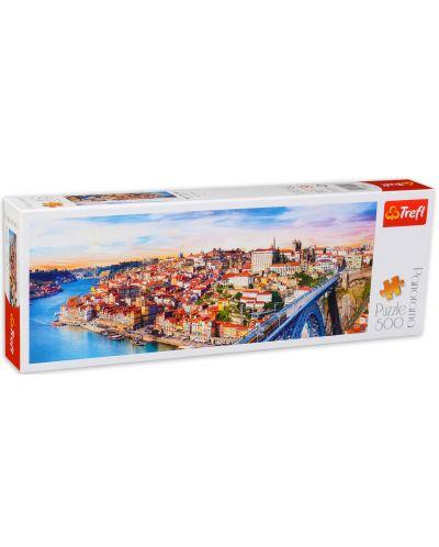 Панорамен пъзел Trefl от 500 части - Порто, Португалия - 2
