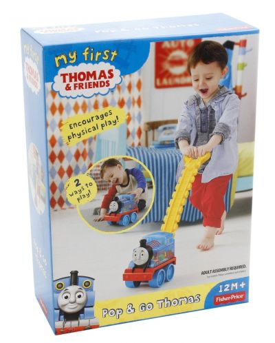 Играчка за бутане Fisher Price My First Thomas & Friends - Томас - 5