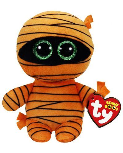 Плюшена играчка TY Toys - Оранжева Мумия, 15 cm - 1