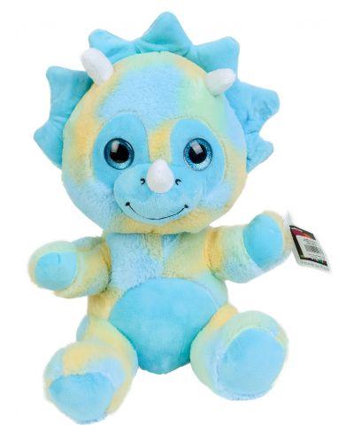 Плюшена играчка Morgenroth Plusch - Синьо бебе дракон, 27 cm - 1