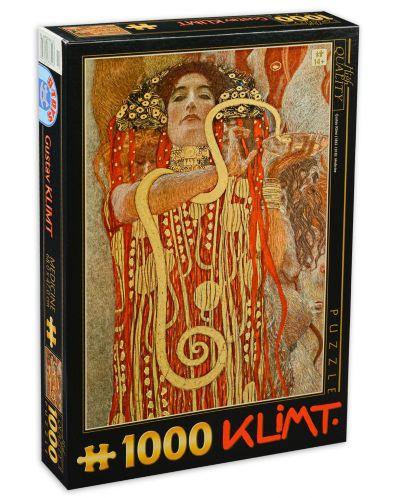 Пъзел D-Toys от 1000 части - Лекарство, Густав Климт - 1