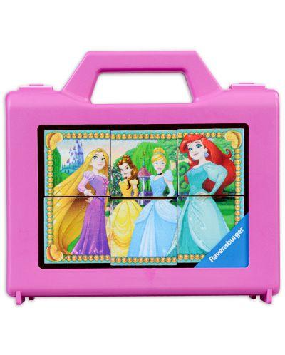 Пъзел с кубчета Ravensburger от 6 части - Дисни принцеси - 3
