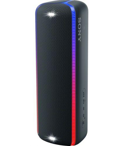 Мини колонка Sony - SRS-XB32, черна - 2