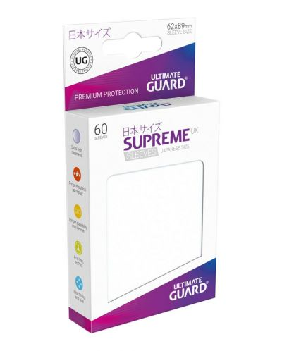 Ultimate Guard Supreme UX Sleeves Yu-Gi-Oh! Frosted (60) - 1