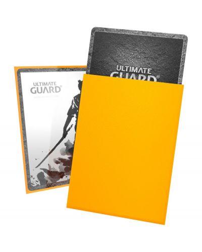 Ultimate Guard Katana Sleeves Standard Size Yellow (100) - 3
