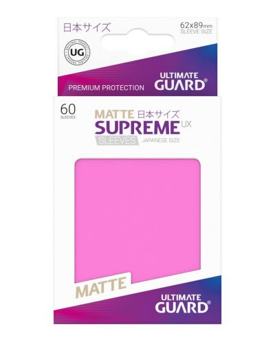 Ultimate Guard Supreme UX Sleeves Yu-Gi-Oh! Matte Pink (60) - 3