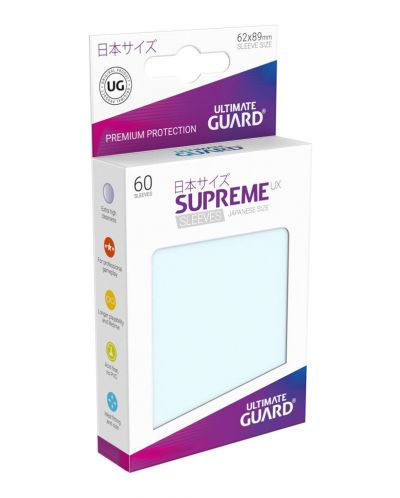 Ultimate Guard Supreme UX Sleeves Yu-Gi-Oh! Transparent (60) - 1