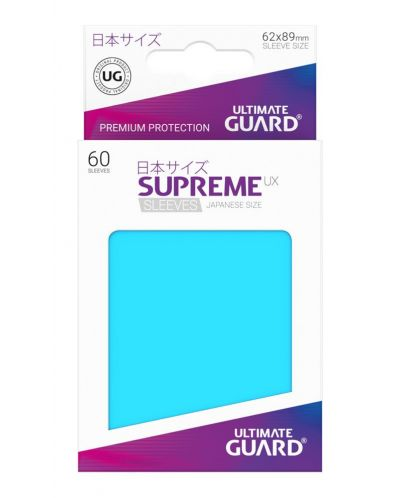 Ultimate Guard Supreme UX Sleeves Yu-Gi-Oh! Light Blue (60) - 3
